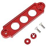 Support d'arrimage de batterie de voiture en billette d'aluminium pour Honda Civic Integra S2000, rouge