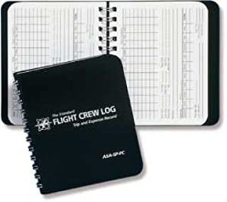 ASA FLIGHT CREW LOGBOOK POCKET SIZE
