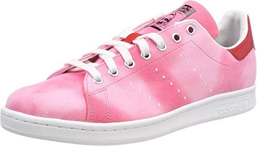 Adidas PW Hu Holi Stan Smith, Zapatillas de Deporte Hombre, Blanco (Ftwbla/Ftwbla/Rojo 000), 46 EU