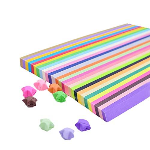 Quilling-Papierstreifen-Set, 1350 Streifen Papier Quilling für Party-Dekoration, handgefertigt (27 Farben)