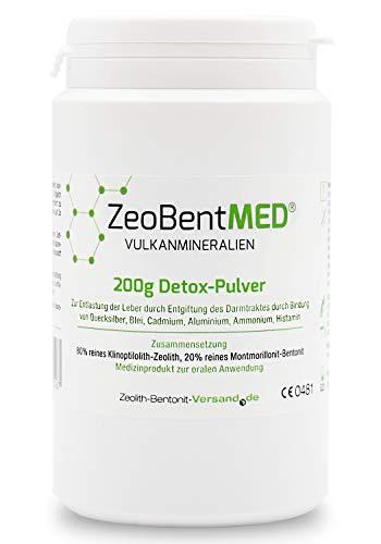 ZeoBent MED 200g Polvos desintoxicantes