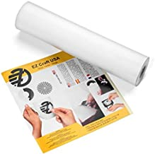 "Glossy White Adhesive Vinyl Roll – HUGE Glossy Adhesive Permanent White Vinyl Rolls – 12""x40FT White Vinyl Sheets are The ..."
