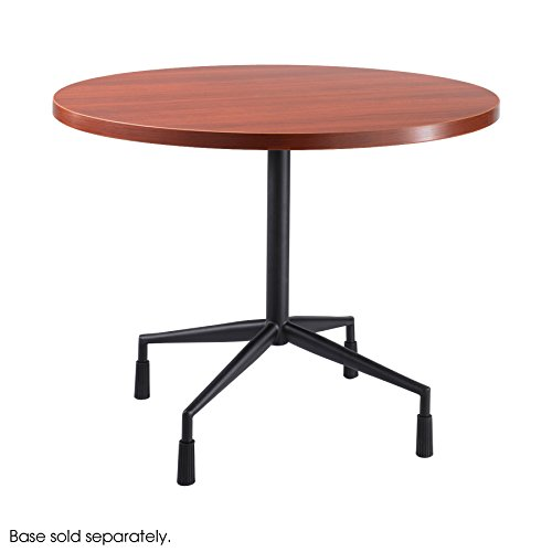 """Safco Products 2654CY RSVP 42"""" Round Table Top (Base sold separately), Cherry"""
