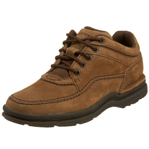 Rockport Women's World Tour Classic Walking Shoe,Chocolate,6.5 M US