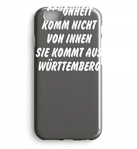 La belleza genérica no viene del interior – viene de Württemberg – Schwoba – Case iPhone 8 Plus gris topo