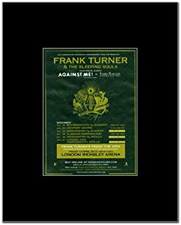 Music Ad World Frank Turner - UK Tour 2011 Mini Poster - 13.5x10cm