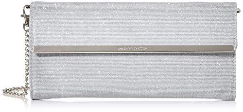 MARCO TOZZI Damen 2-2-61004-34 Clutch, Silber (Silver), 4x13,5x27,5 cm