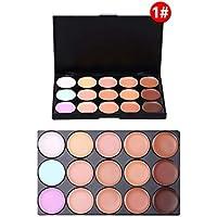 PhantomSky 15 Colores Corrector Camuflaje Paleta de Maquillaje Cosmética Crema #1 - Perfecto para Uso Profesional y Diario