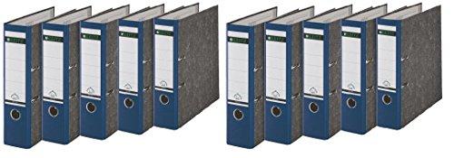 Leitz 1080/1050 Standard Ordner A4 (breit | 10er Pack, blau)