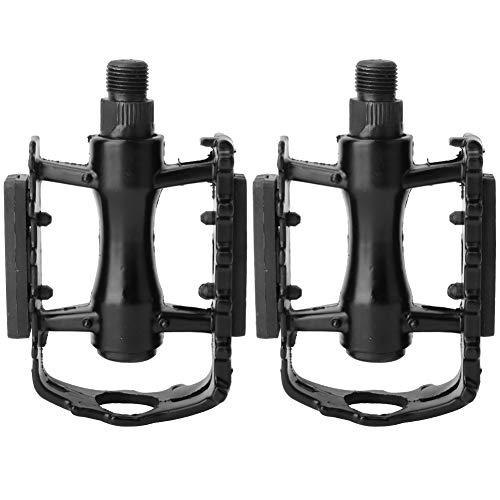N'C Pedali Leggeri in Lega di Alluminio della Lega di Alluminio Nero Parte di Ricambio della Bicicletta
