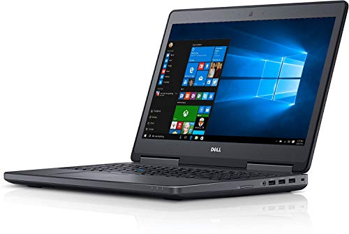 Dell Precision 7520 Laptop Intel Processor Genuine Windows 10 Professional 12 Months Warranty (Intel Core i7, 16GB RAM, 256GB SSD)