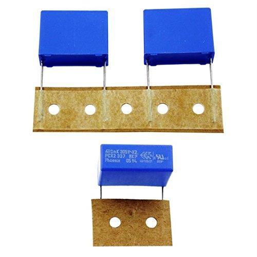 10x Condensador de supresión 0,68µF 305V AC RM22,5 220633763684 680nF
