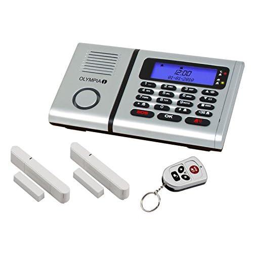 Olympia 6030 5901 Système d'alarme Protect sans fil avec fonction appel d'urgence/panique/écoute/mains-libres
