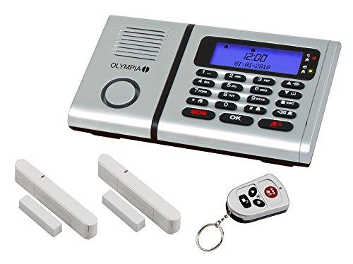 Olympia 5901 Protect 6030 Drahtlose Festnetz Alarmanlage mit Notruf und Freisprechfunktion, App...