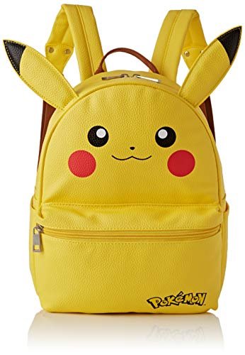 Difuzed Mini Mochila Pokemon Pikachu, amarilla, 41cm
