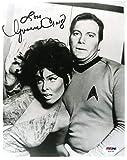 YVONNE CRAIG PSA DNA Coa Autograph 8x10 Star Trek Photo Hand Signed