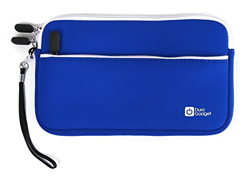 DURAGADGET Blue Protective Neoprene Carry Case - Suitable for use with Casio Classpad fx-CP400 Graphic Calculator