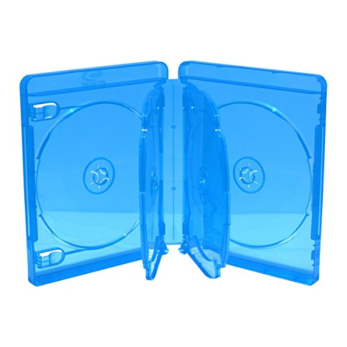 BluRay 6er BD Hülle / 22mm / geeignet für 6 Datenträger