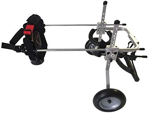MJY Hund Tierbedarf für Hunde Bett Pet Shop einstellen Rollstuhl/Hind Leg Reparatur/Scooter/Tierrehabilitationstraining Auto Pet Autositz (Größe: M),S