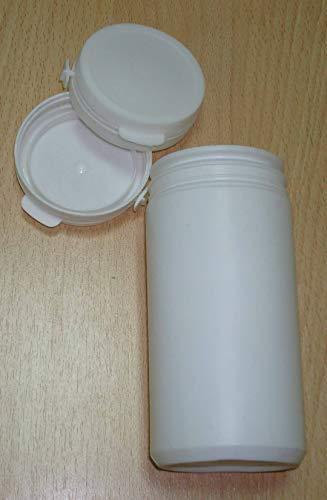 Botellas fluoradas 400ml, 30pcs polipropileno cápsula caja tarro blanco proffesional médico laboratorio suministro