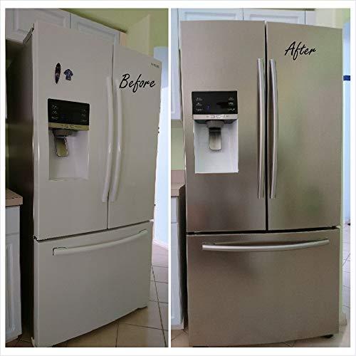 EZ FAUX DECOR Dishwasher Refrigerator Instant Update Peel and Stick Self...