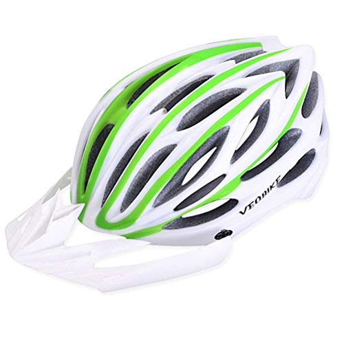 ZGYQGOO Casco de Bicicleta de Ciclismo para Adultos Especializado para Hombres Mujeres Cascos de Bicicleta de Carretera Cascos de Ciclismo para Adultos Casco Ligero Ajustable