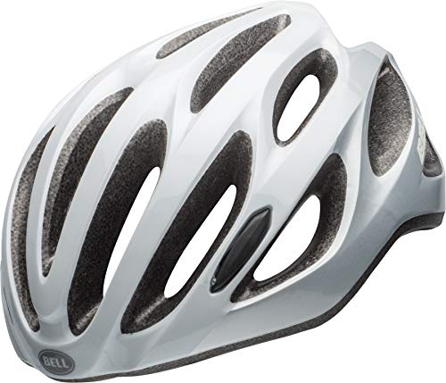 BELL Draft Cycling Helmet, White/Silver Repose, Unisize (54-61 cm)