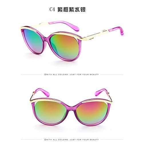 ZLYZ Lentes de Sol para niños niños Gafas de Sol niños niñas niños bebé niño Seguridad Gafas de Sol oculos Infantil