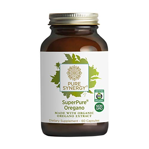 Pure Synergy SuperPure Oregano Extract (60 Capsules) Made with Organic Oregano for Immune Health Support
