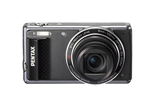 """Pentax Vs20 - Cámara compacta de 16 MP (Pantalla de 3"""", Zoom óptico 20x, estabilizador de Imagen óptico), Negro"""