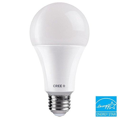 (1-Pack) Cree 3-Way LED 40W/60W/100W Soft White (2700K) Light Bulb, A21, CRI 90+