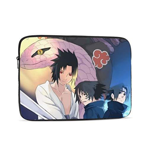 EWRVSXZ Naruto Uchiha Sasuke Laptop Case Sleeve Notebook Computer Bag Pocket Tablet Briefcase Multiple Sizes 15 Inch