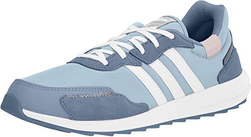 adidas Women's Retrorun Running Shoe, Sky Tint/White/Blue, 10.5