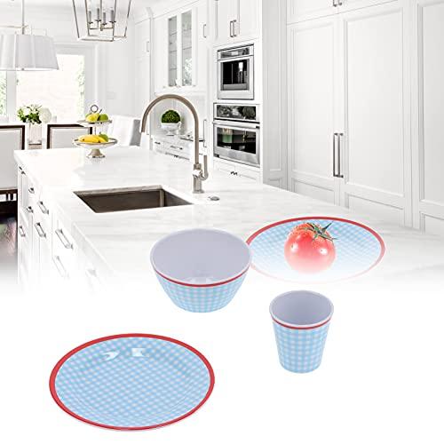 Vaisselle, Assiette à Fruits Anti-Chute Multi-Usage pour Cuisine pour Maison pour Restaurant