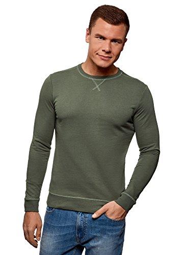 Oodji Ultra Hombre Suéter Básico de Algodón