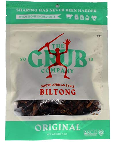 The Grub Company Kosher Biltong (Original)