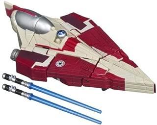 Star Wars 2011 Class I Transformers Crossovers ObiWan Kenobi to Jedi Starfighter