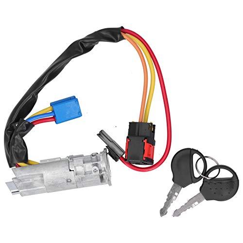 Interruptor de encendido, interruptor de arranque de encendido Llaves cilíndricas de bloqueo 4162P0 Interruptores de arranque de encendido del coche Interruptor para CITROEN XSARA PICASSO 1999-2010
