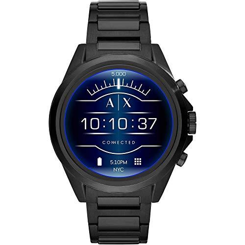 Armani Exchange Herren-Smartwatch mit Edelstahl Armband AXT2002