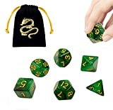 JOSE9A Dadi D&D Dadi da Gioco, per Rpg Dungeons And Dragons Gioco di Ruolo Gioco da Tavolo...