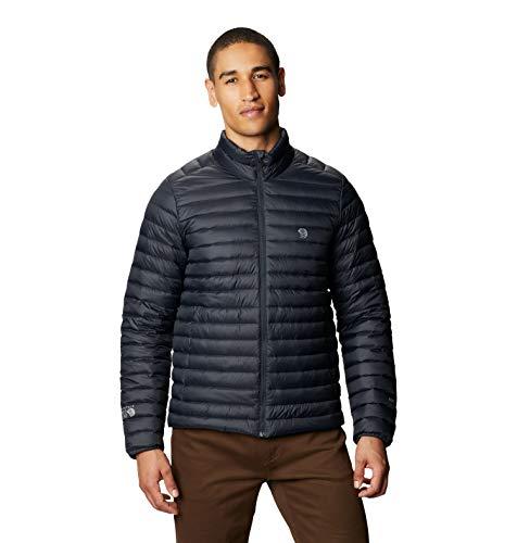 Mountain Hardwear Men's Standard Mt Eyak/2 Jacket, Dark Storm, Large