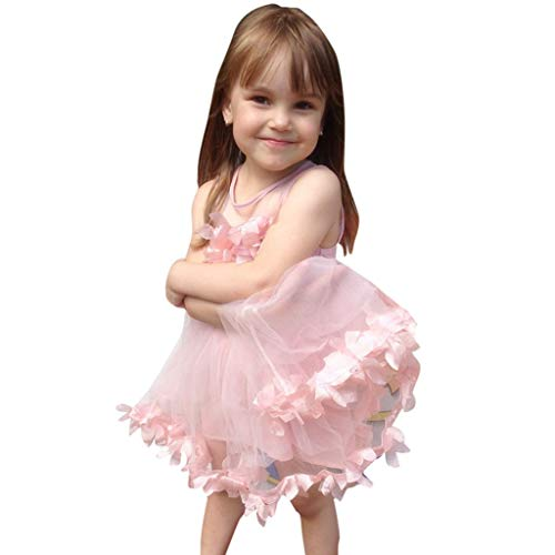 Weant Baby Kleidung Mädchen Outfits Röcke Blütenblatt Spleißen Mesh Prinzessin Partykleid Sommerkleid Prinzessin Kleid Kinder Kleider Baby Bekleidungssets Neugeborenen Bekleidungset