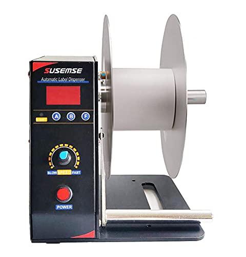 Cikiter Label Rewinder 185mm Label Rewinding Machine Automatic Label Rewinder (Label Rewinder)