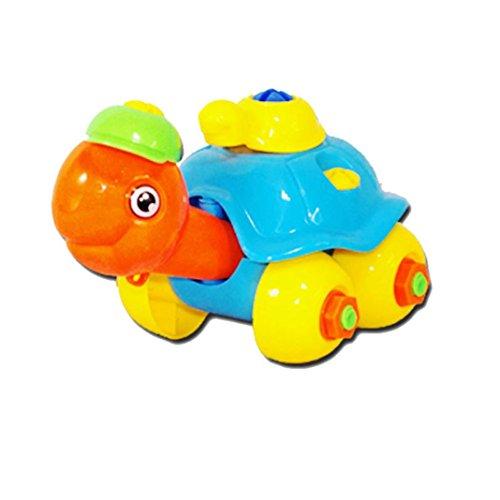 Jouets pour bébé,Transer® Mignon démontage tortue voiture Design pédagogique jouets meilleur cadeau pour les enfants