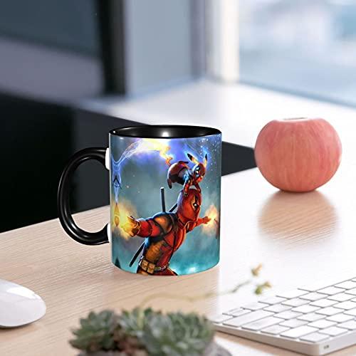 Deadpool and Pikachu - Taza de café (cerámica, 330 ml)