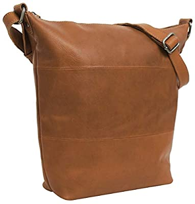 'Gusti Cuir Studio Zahara Sac bandoulière pour Femme Loisirs Sac à Main en Cuir Femme Sac Shopper Shopping Bag Sac à Main Femme Sac Cuir de chèvre 2M45