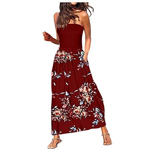 JUNGE Vestidos De Fiesta Tallas Grandes,Vestidos De Fiesta Cortos 2021,Vestido Flecos,Escote Palabra...