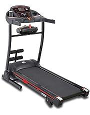 Skyland Home Use Motorized Treadmill With Massager -EM-1242 Black, L=42 cm x W=71.5 cm x H=137.5 cm