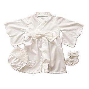 日本製 お宮参り 袴タイプ セレモニードレス ベビードレス ソックス付き3点セット 春秋素材 お帽子・靴下付き