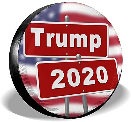 MODORSAN Trump 2020 Cubierta de neumático de Repuesto,poliéster,Universal,de 15 Pulgadas,Cubierta de neumático de Rueda de Repuesto para Remolque,RV,SUV,camión,camión,Camper,Viaje,Remolque,Accesorios